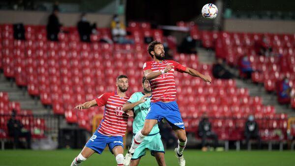 Игровой момент матча Гранада - Леванте