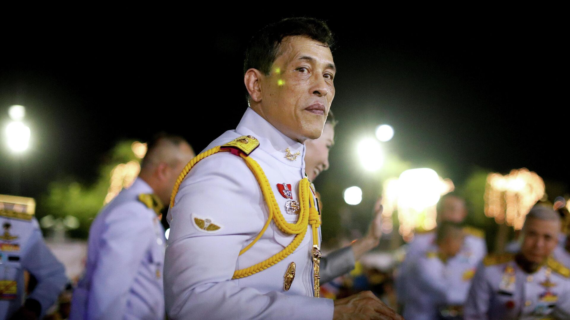 Король Таиланда Маха Ватчиралонгкон (Рама Х) в Бангкоке, Таиланд. 1 ноября 2020 - РИА Новости, 1920, 02.11.2020