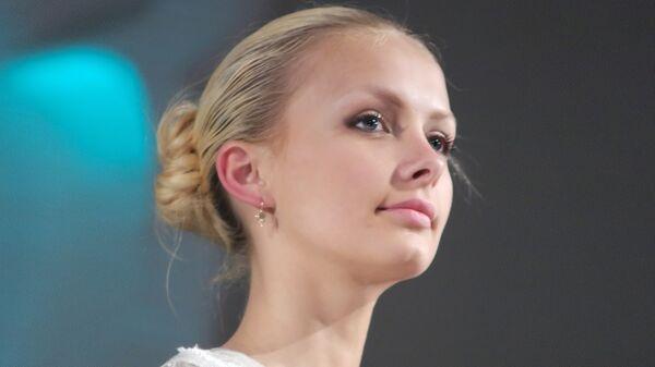 Белорусская модель, победительница конкурса Мисс Беларусь-2008 Ольга Хижинкова