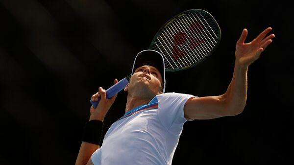 Теннисист Хуберт Хуркач (Польша)