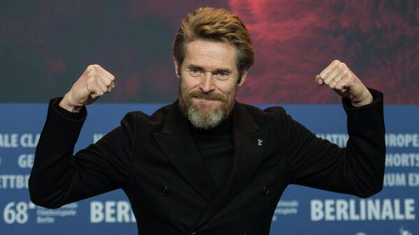 Актер Уиллем Дефо во время Берлинского международного кинофестиваля