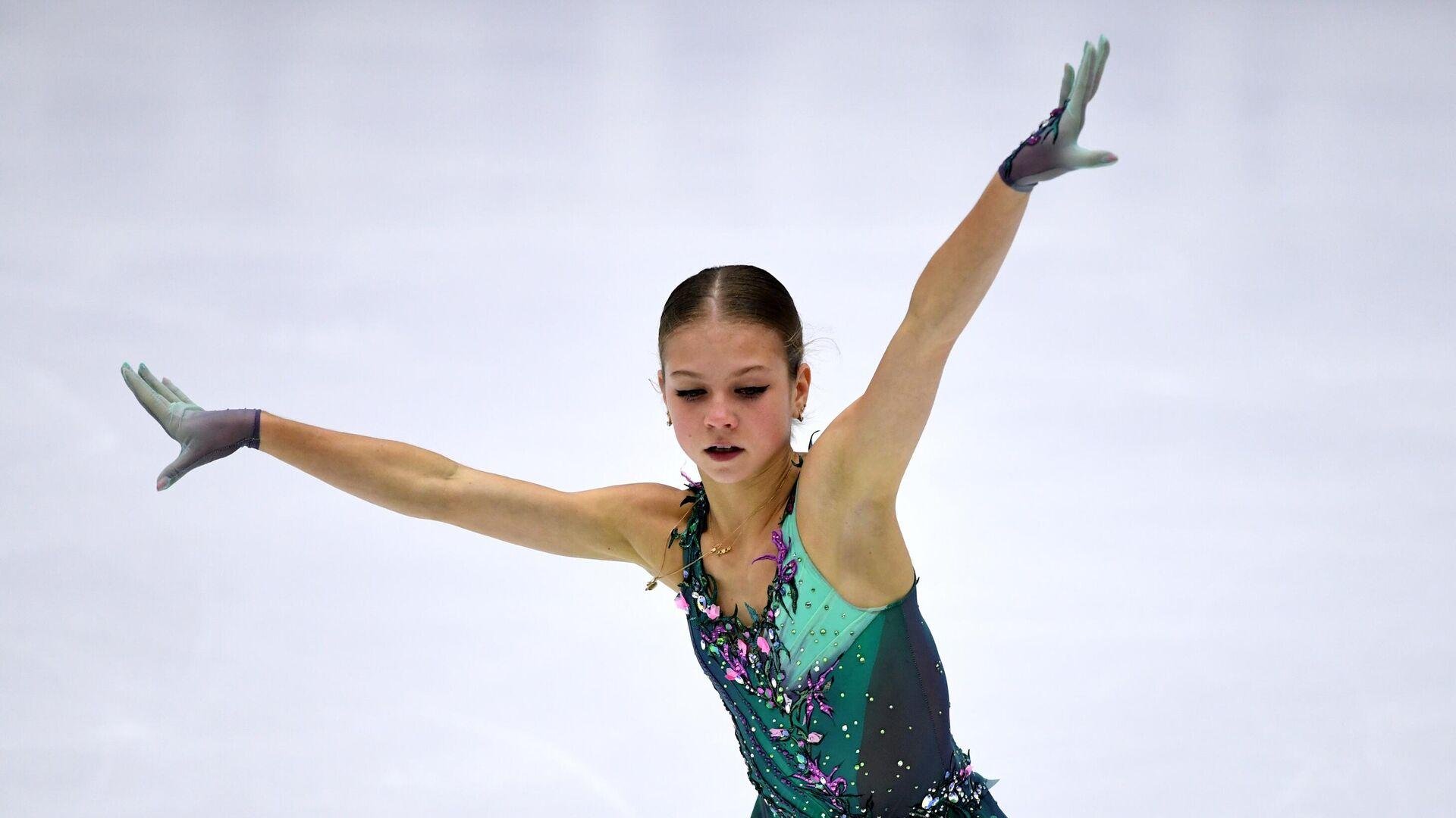Трусова превысила сумму двух мировых рекордов на этапе ...