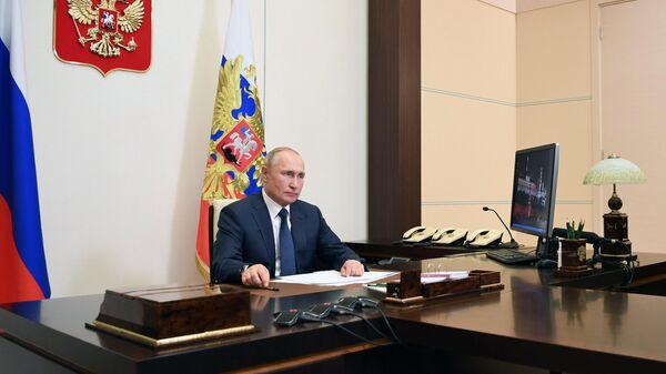 Алиев отметил особую роль Путина в подготовке соглашения по Карабаху