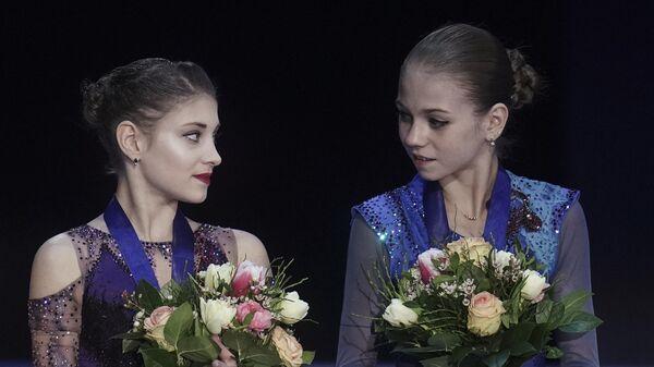 Фигурное катание. Чемпионат Европы. Женщины. Церемония награждения