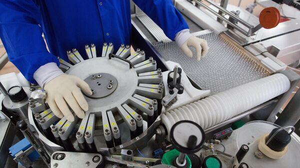 Производство на фармацевтическом заводе Биннофарм