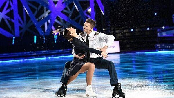 Дмитрий Соловьев и Ольга Бузова на Ледниковом периоде