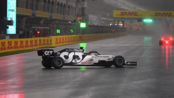 Даниил Квят на Гран-при Турции Формулы-1