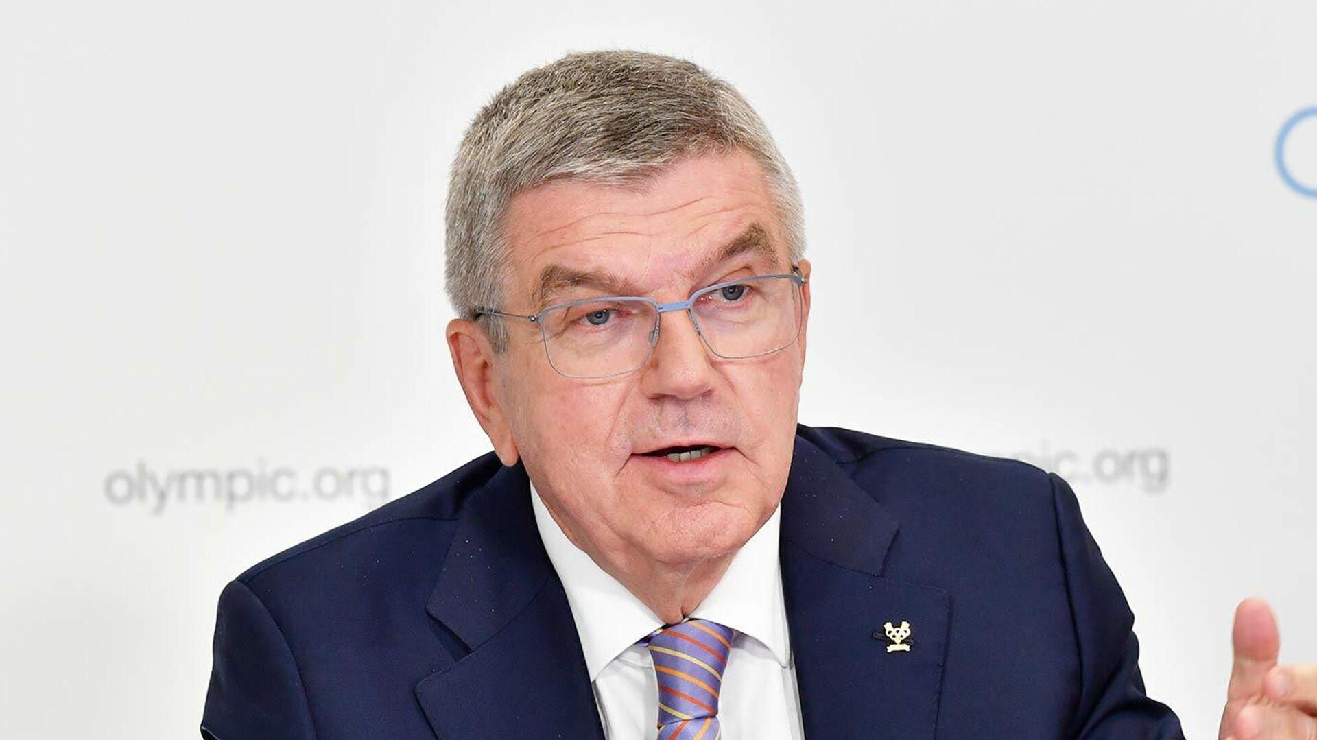 Глава Международного олимпийского комитета Томас Бах - РИА Новости, 1920, 21.04.2021