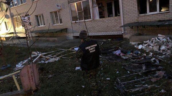 Пожар в в шестиэтажном многоквартирном жилом доме в Ставрополе