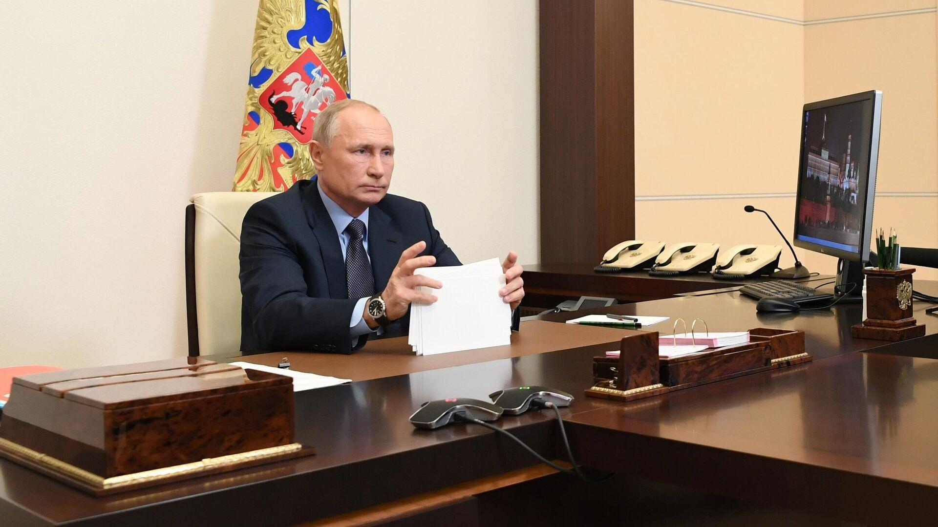 Президент РФ Владимир Путин - РИА Новости, 1920, 16.11.2020
