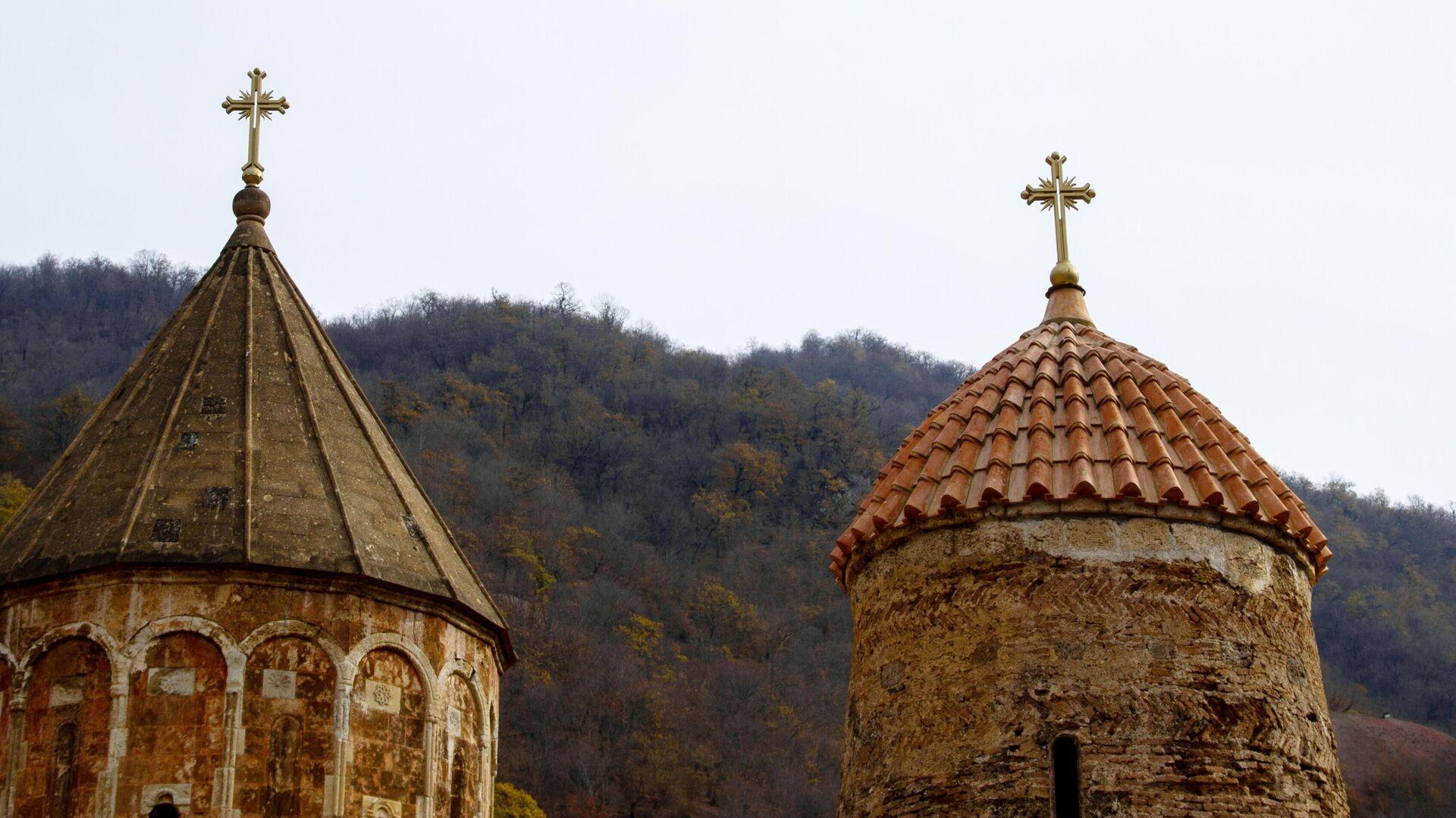 Монастырский комплекс Дадиванк в Нагорном Карабахе - РИА Новости, 1920, 25.11.2020