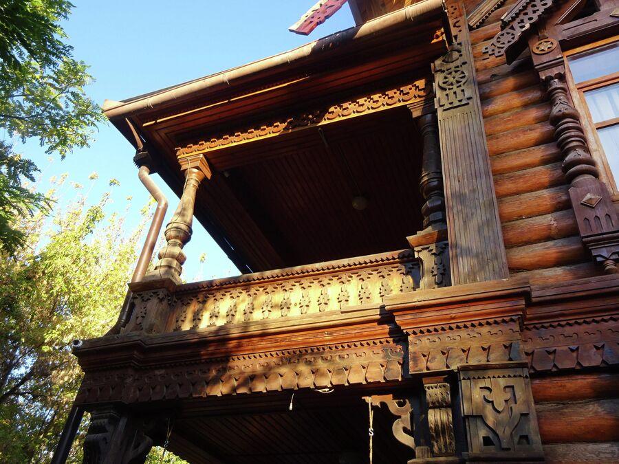 Дом купца Тетюшинова, фасад