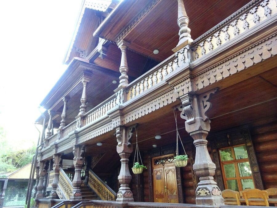 Дом купца Тетюшинова, вид со двора