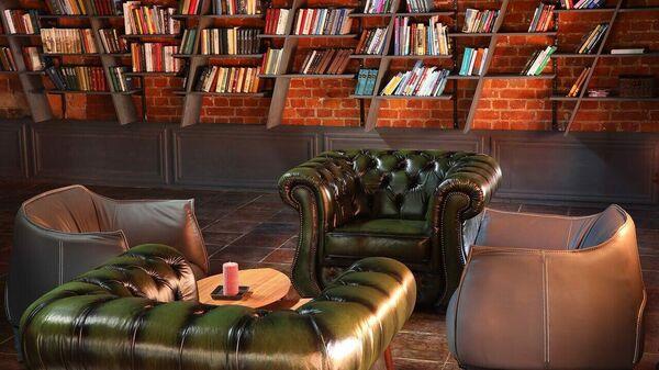Библиотека в одном из офисов Deworkacy