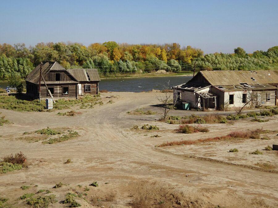 Дельта Волги, село Ямное