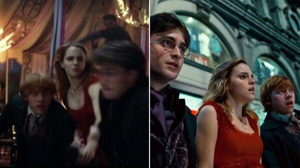 Кадры из фильма Гарри Поттер и Дары Смерти: Часть I