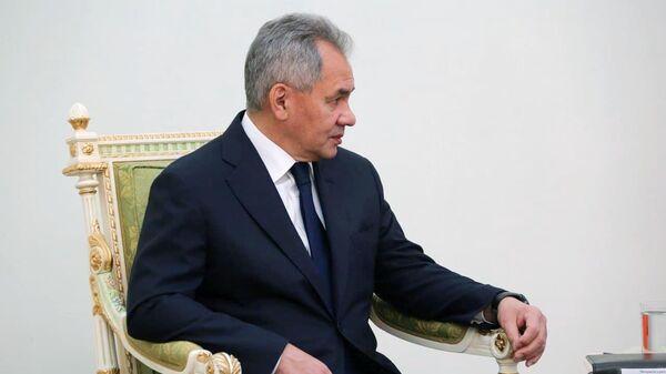 Министр обороны РФ Сергей Шойгу во время встречи в Ереване с премьер-министром Армении Николом Пашиняном