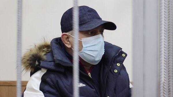 Начальник отдела МВД России по Кизлярскому району Республики Дагестан полковник полиции Гази Исаев в Басманном суде Москвы