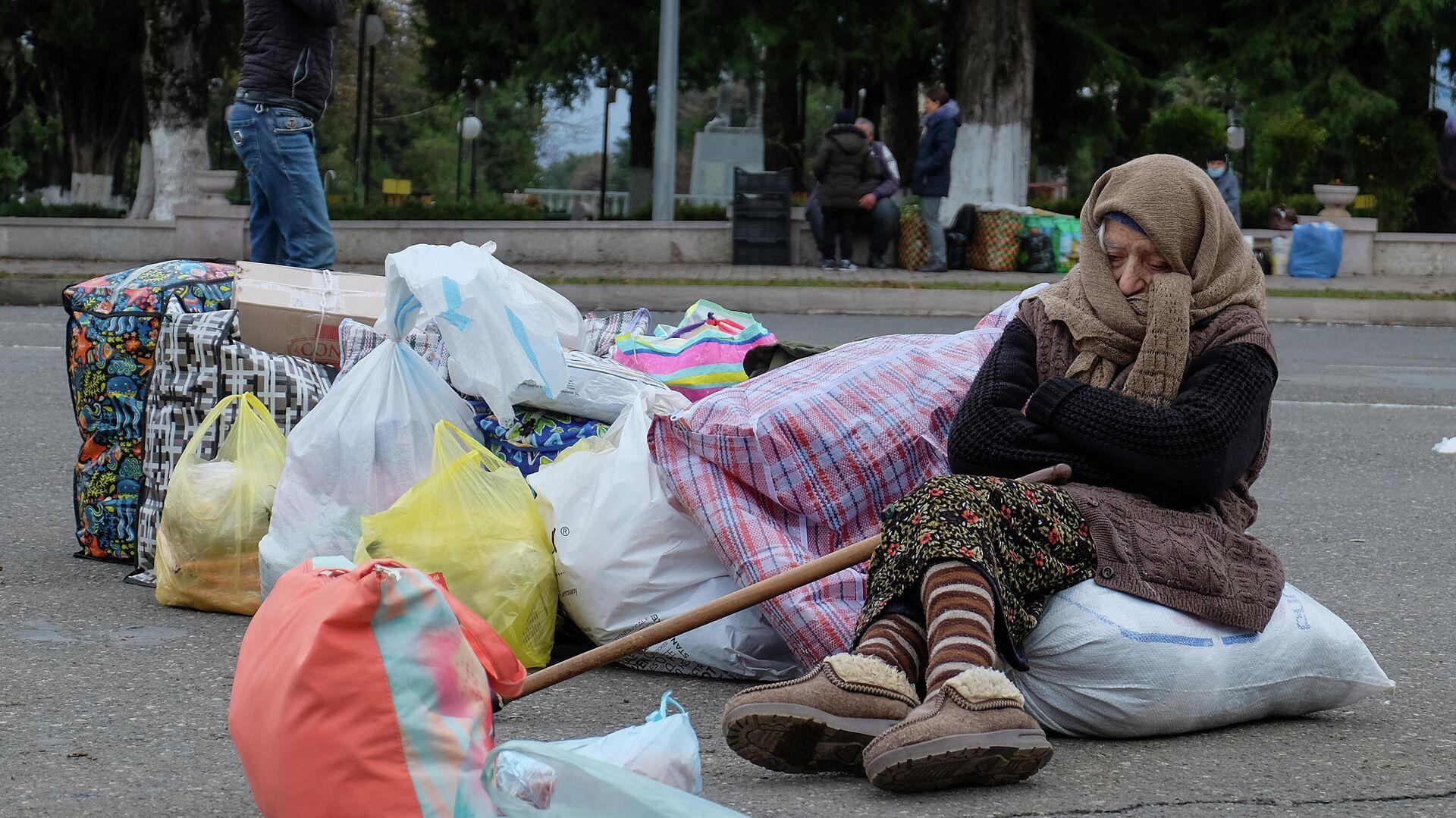 Более 850 беженцев вернулись за сутки в Степанакерт