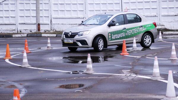 Сдача практического экзамена на право управления автотранспортом категории B в Москве