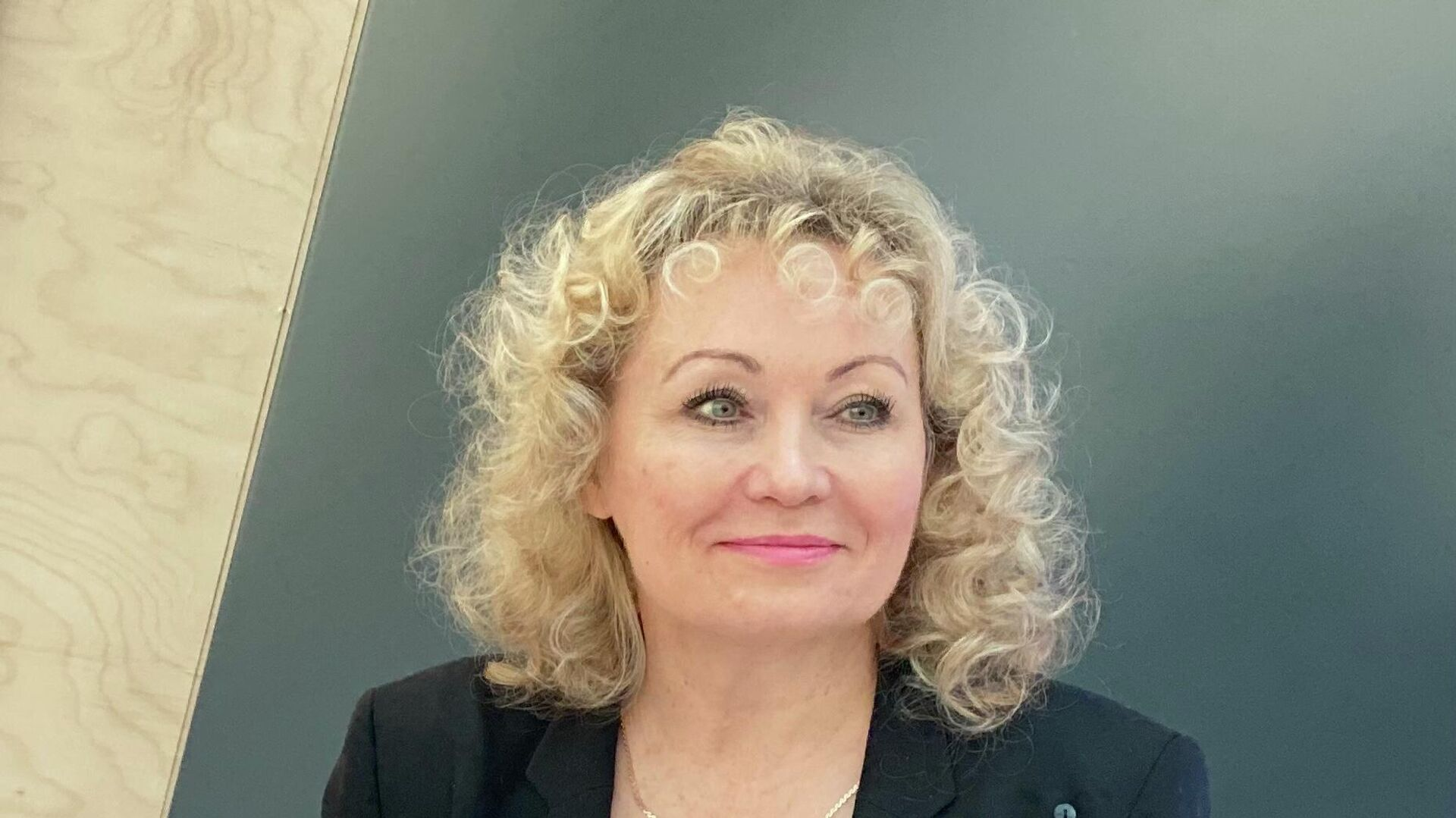 Президент Федерации бобслея России Елена Аникина - РИА Новости, 1920, 10.01.2021