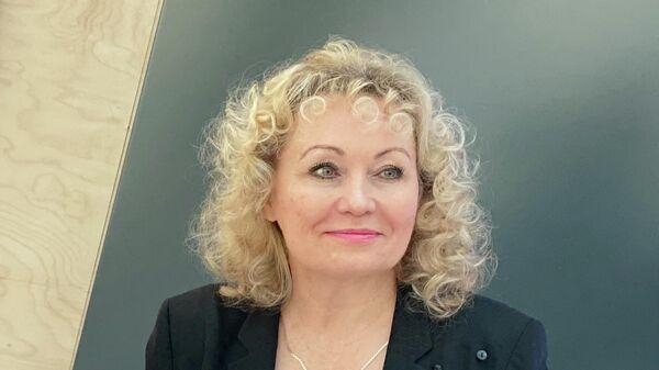 Президент Федерации бобслея России Елена Аникина