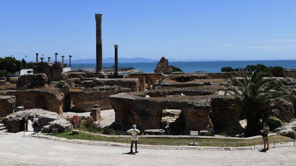 Термы Антония Пия на территории древнего города Карфагена