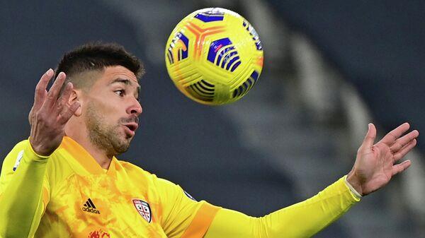 Футболист итальянского Кальяри Джованни Симеоне