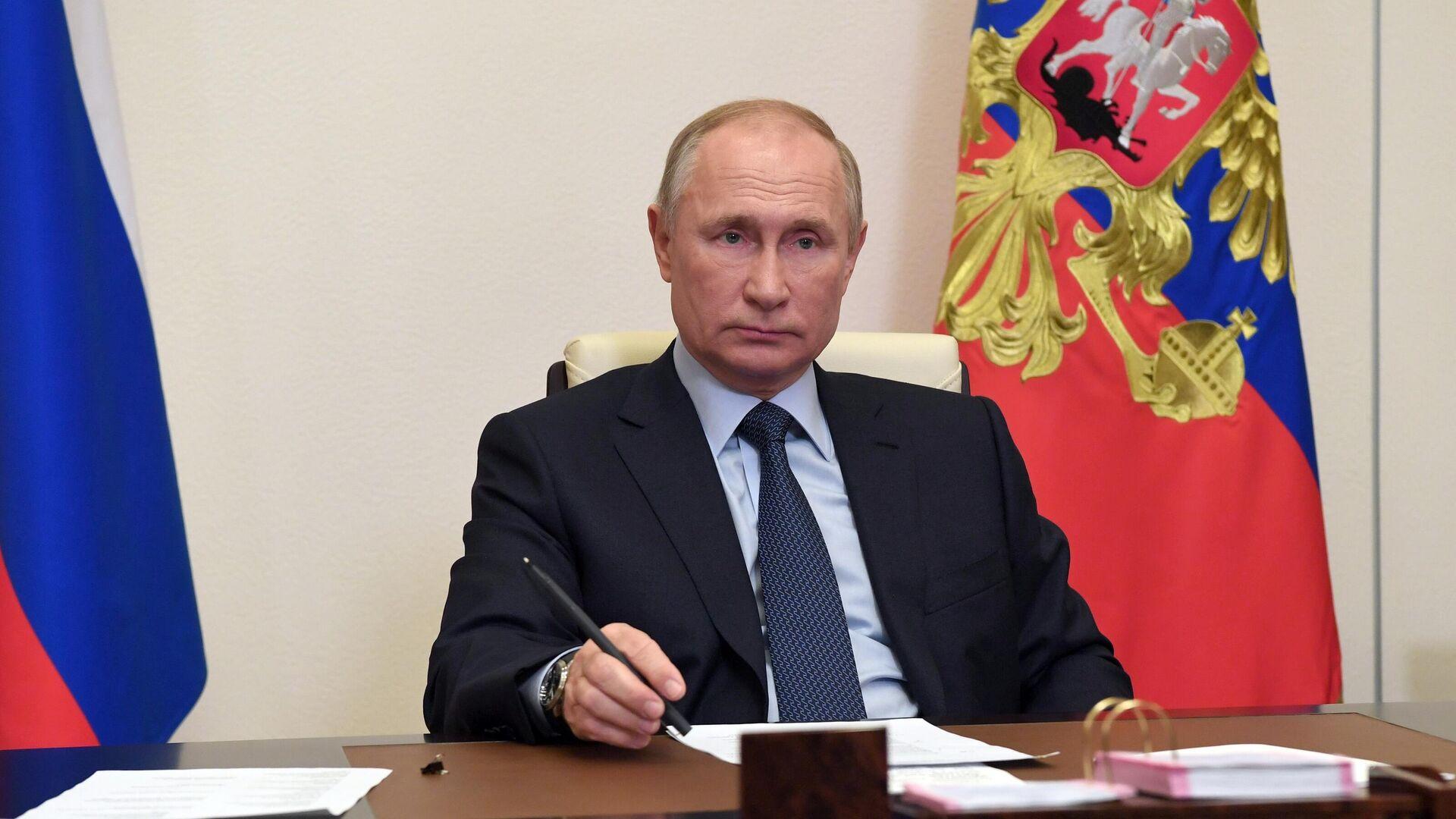 Президент РФ Владимир Путин - РИА Новости, 1920, 27.11.2020