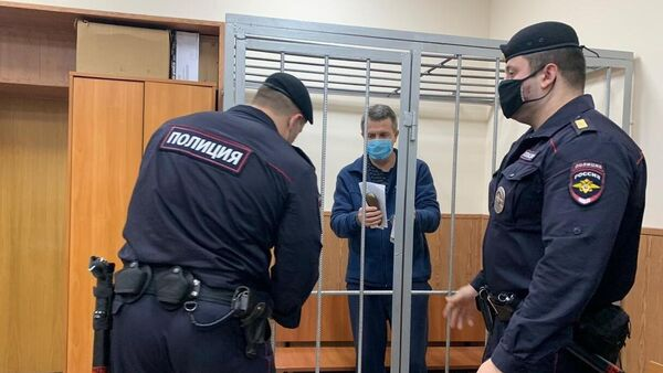 Бывший заместитель директора ФСИН России Валерий Максименко, обвиняемый в злоупотреблении должностными полномочиями