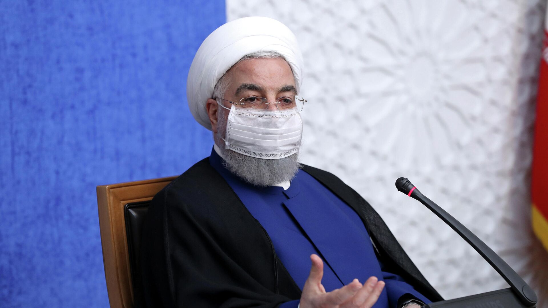 Президент Исламской Республики Иран Хасан Роухани  - РИА Новости, 1920, 27.01.2021