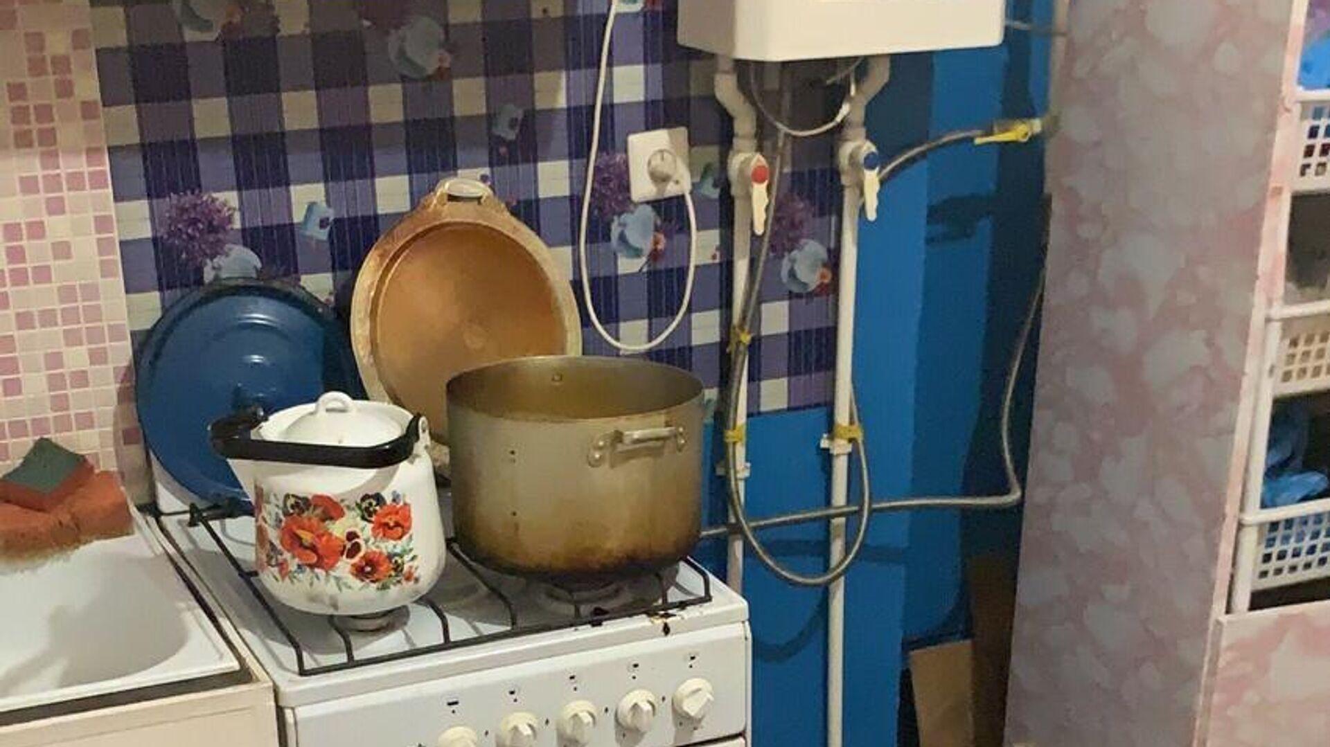 Квартира, в которой пять человек умерли от отравления бытовым газом, Оренбургская область - РИА Новости, 1920, 29.11.2020