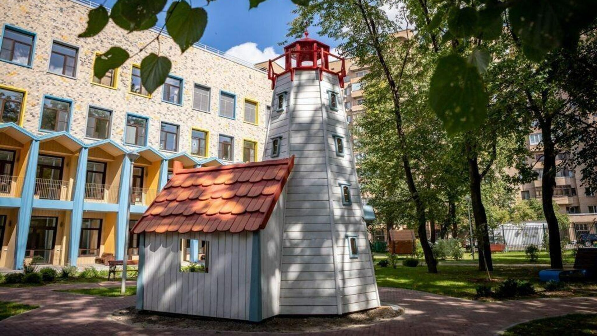 Московский хоспис Дом с маяком - РИА Новости, 1920, 10.12.2020