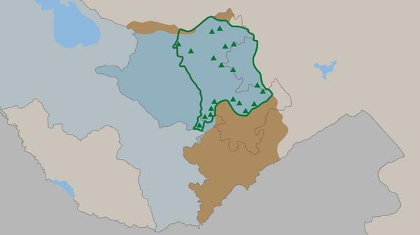 Российские миротворческие силы в Карабахе: дислокация и контингент