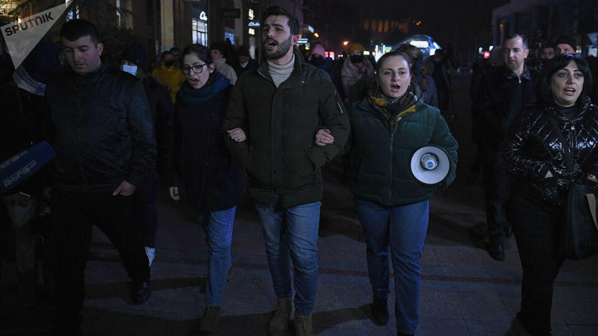 Акция протеста в Ереване - РИА Новости, 1920, 01.12.2020