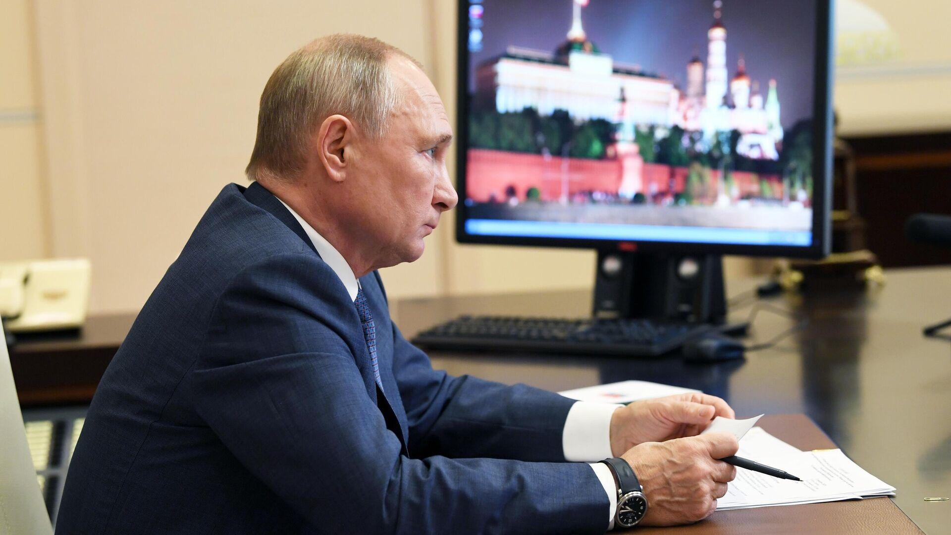 Путин проведет встречу с губернатором Тульской области по видеосвязи