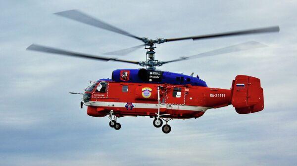 Вертолет Ка-32А11ВС Московского авиационного центра