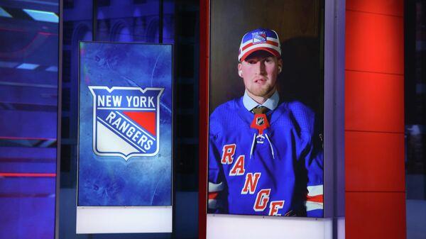 Нападающий клуба НХЛ Нью-Йорк Рейнджерс Алексис Лафреньер