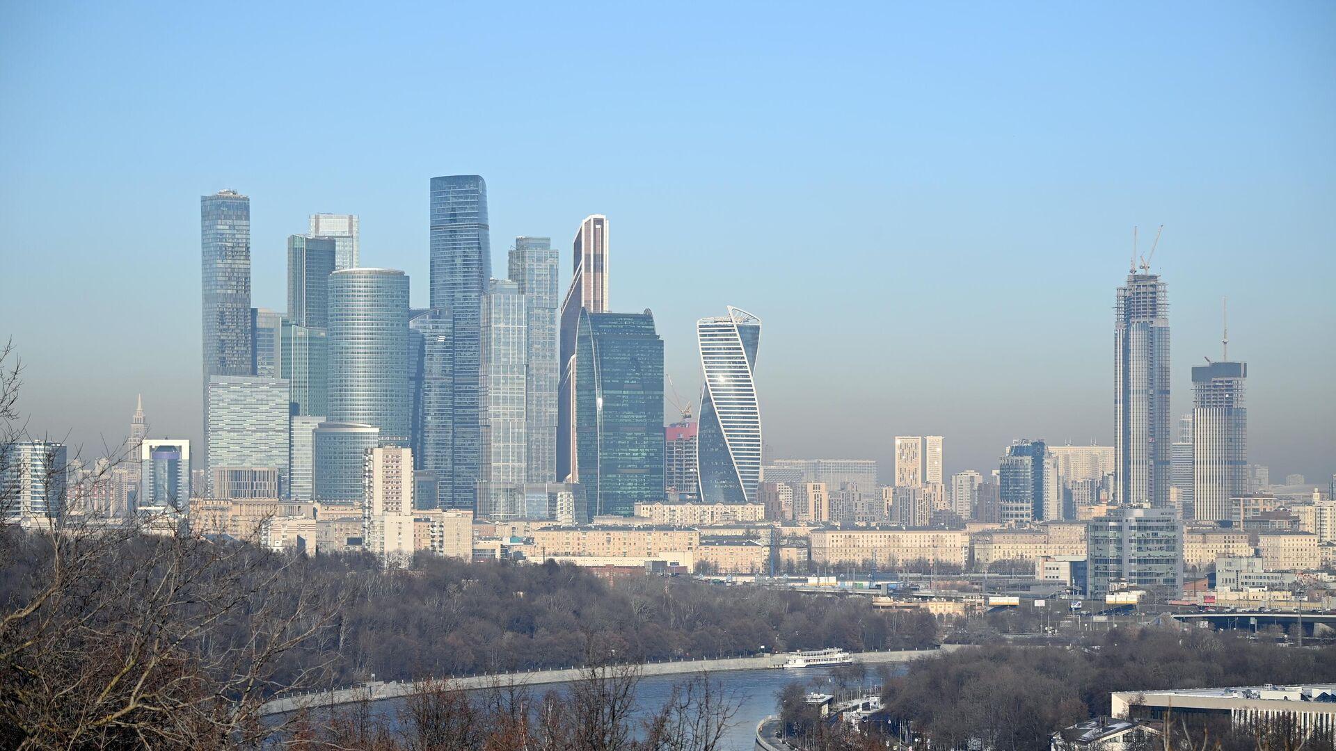 Москва-сити - РИА Новости, 1920, 20.02.2021