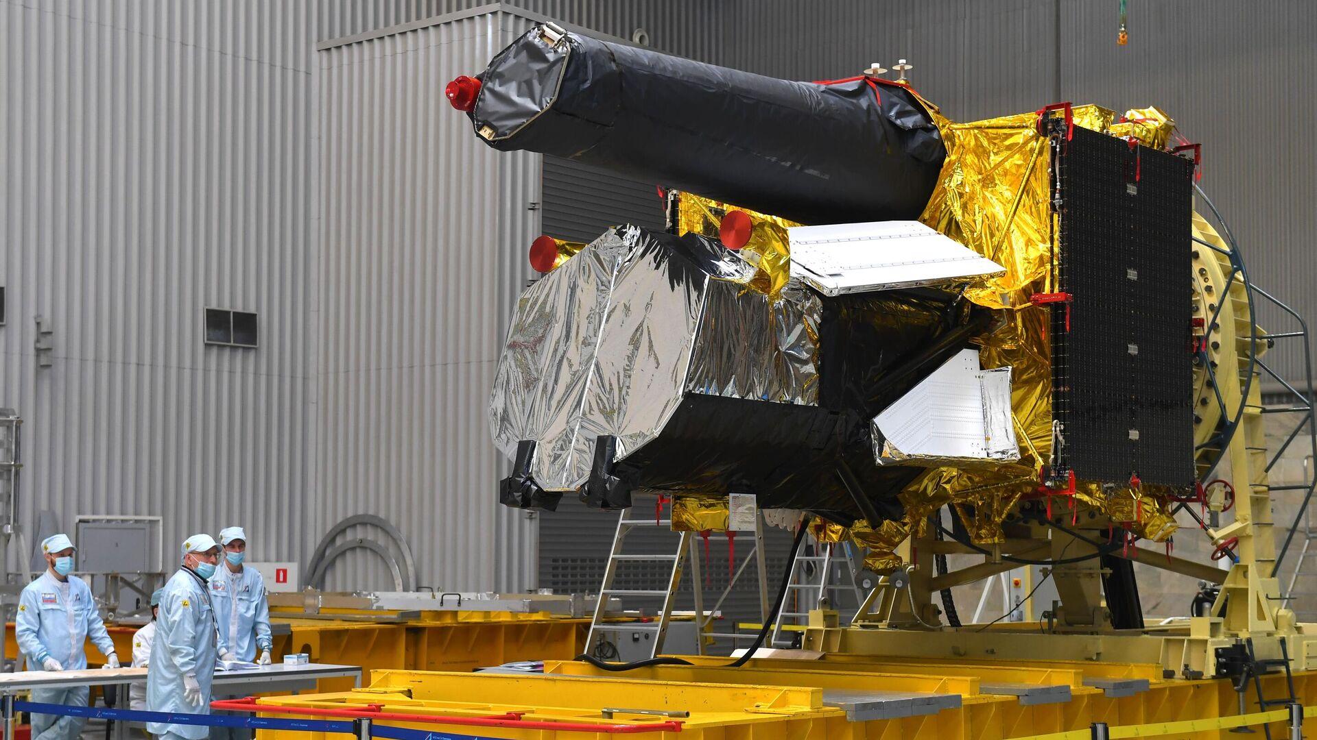 """Российский телескоп """"Спектр-РГ"""" подтвердил теорию Большого взрыва"""