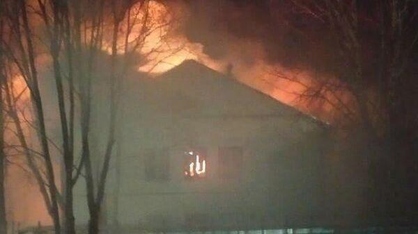 Пожар в здании научного центра биомедицинских технологий ФМБА России в Красногорске
