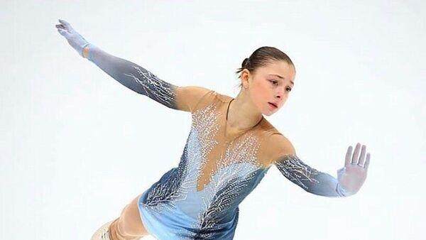Российская фигуристка Софья Самоделкина