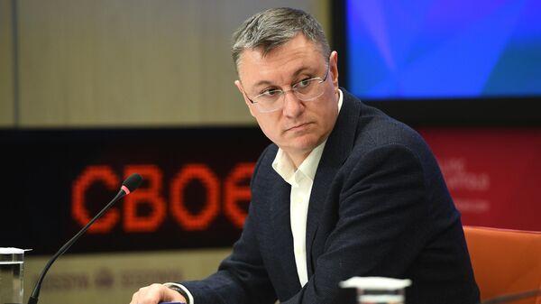 Исполнительный директор МИА Россия сегодня Василий Конов
