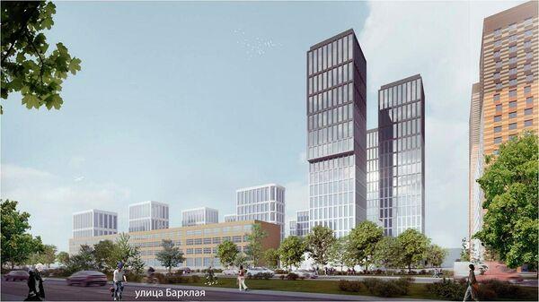Проект планировки территории бывшей производственной зоны №40-А Западный порт в Москве