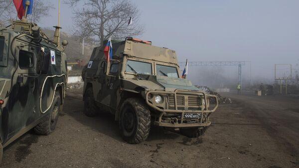 Российские миротворцы в Карабахе