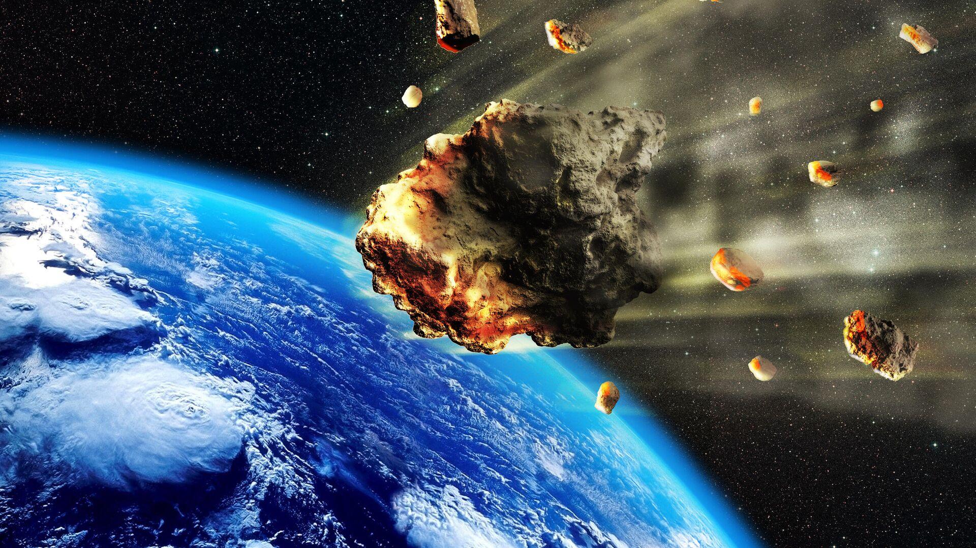 Астероиды в атмосфере Земли - РИА Новости, 1920, 10.01.2021