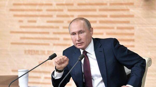 Кремль назвал дату прямой линии Путина с россиянами