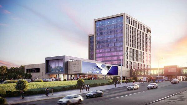 Проект бизнес-квартала Прокшино в новой Москве