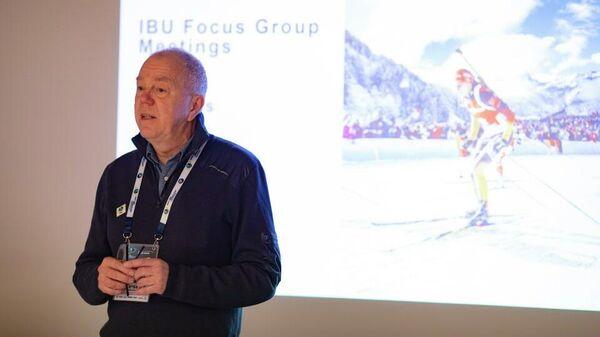 Президент Международного союза биатлонистов (IBU) Олле Далин