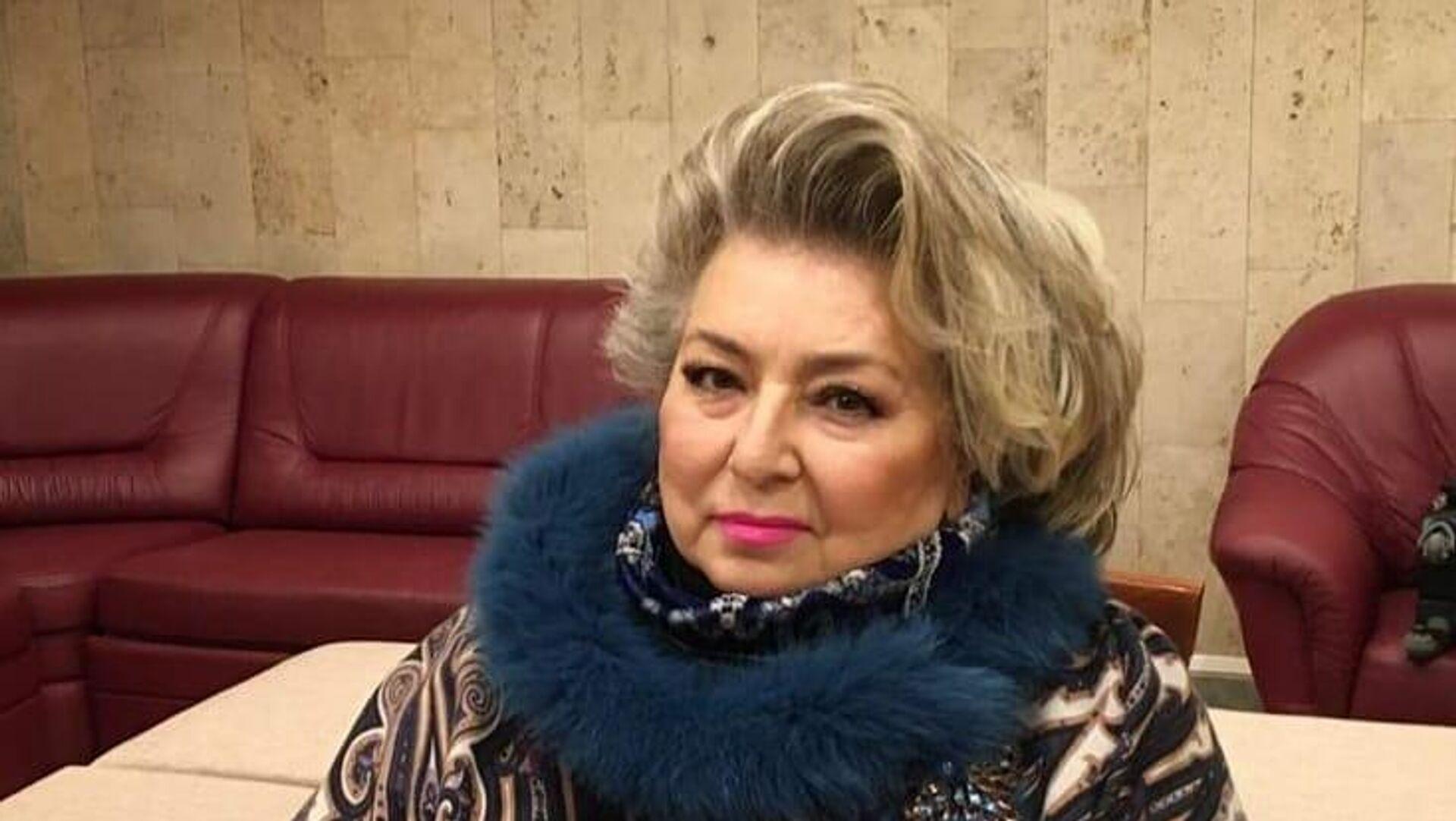 Татьяна Тарасова - РИА Новости, 1920, 09.01.2021